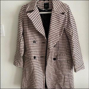 Fall trench coat!!🖤🤍💕